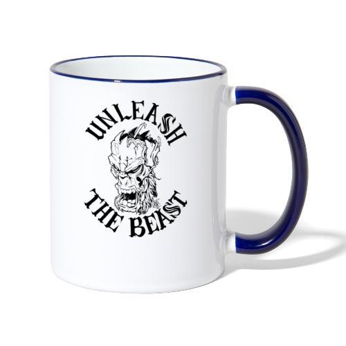 UNLEASH THE BEAST - Contrasting Mug