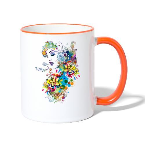 Lady singer - Mug contrasté