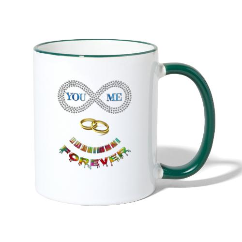 You and me Forever - Mug contrasté