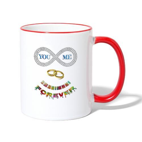 You and me Forever - Mug contrasté