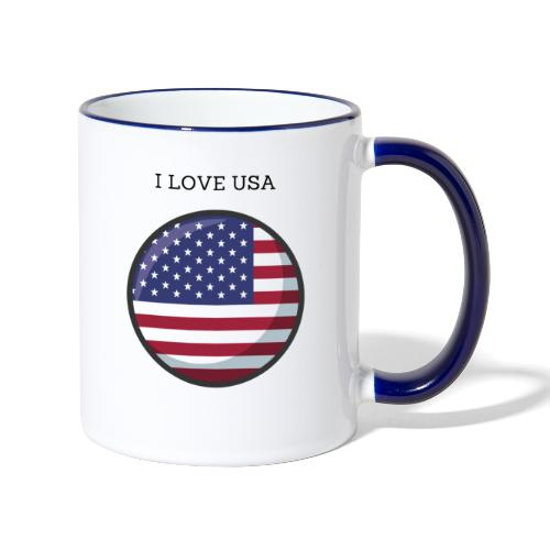 Mug USA - Mug contrasté