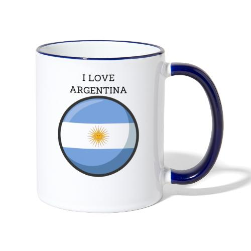 Mug Argentina - Mug contrasté