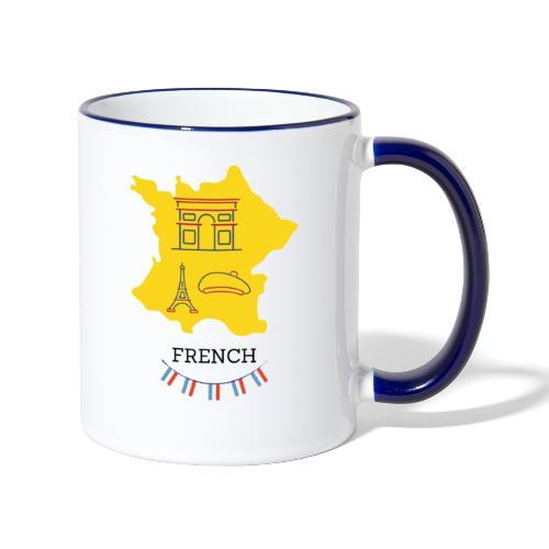 Mug French - Mug contrasté