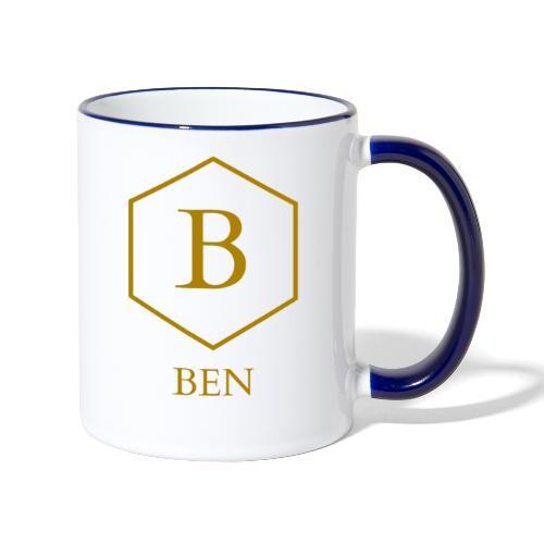 Mug Ben - Mug contrasté