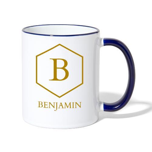 Mug Benjamin - Mug contrasté