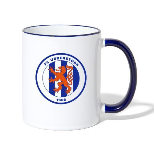 FC Ueberstorf - Tasse zweifarbig