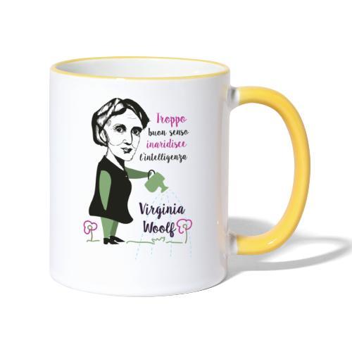 Virginia Woolf citazione - Contrasting Mug