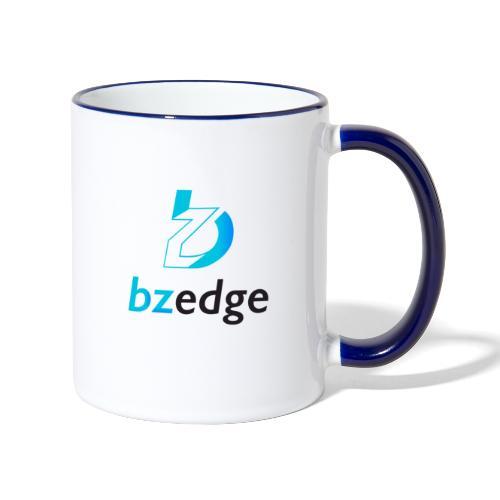 BZEdge Cutting Edge Crypto - Contrasting Mug