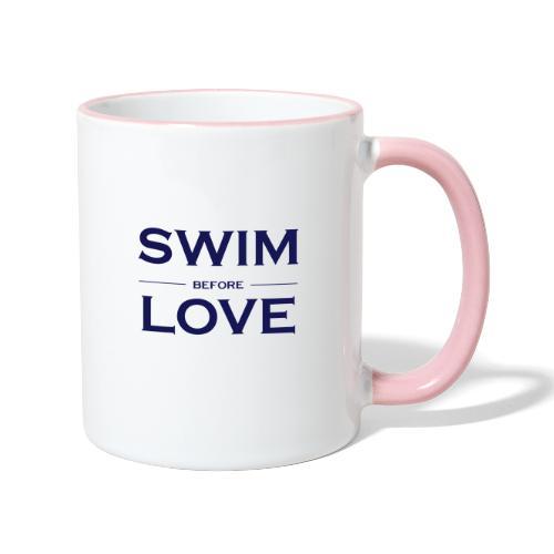 SWIM BEFORE LOVE - Tazze bicolor