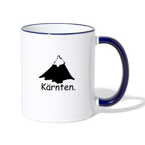 Kaernten - Tasse zweifarbig