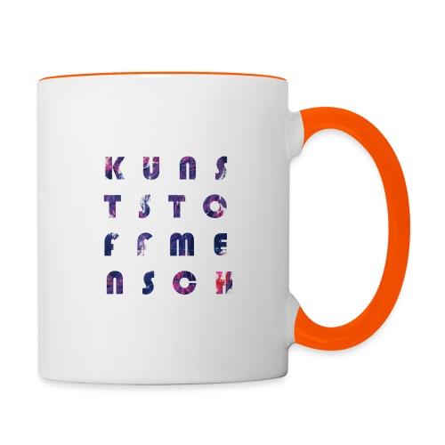 KunstStoffMensch #5 - Tasse zweifarbig