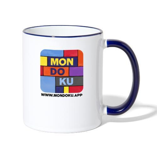 MONDOKU Icon - Tasse zweifarbig