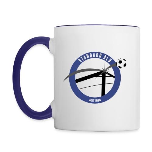 alu-logo - Tasse zweifarbig