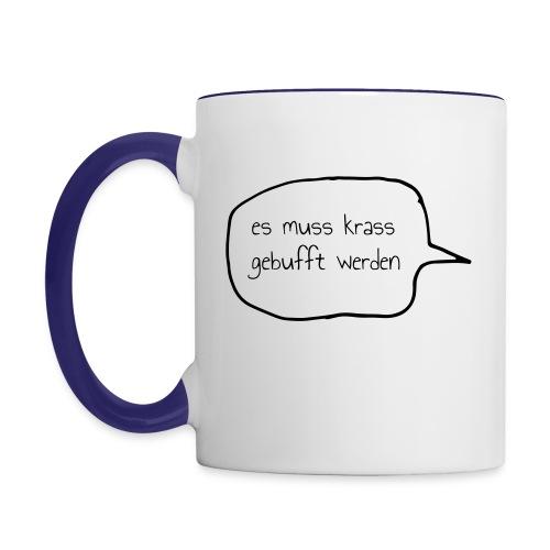 slogan-emkgw - Tasse zweifarbig