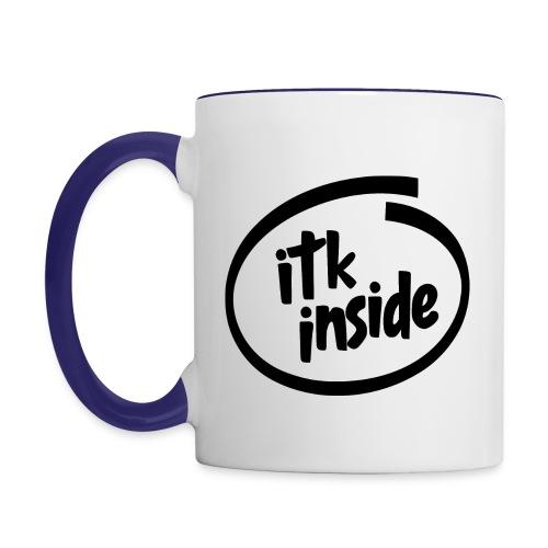 ITK logo svart - Contrasting Mug