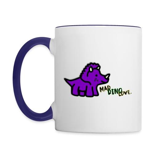 Trixie Mad Dino Love png - Contrasting Mug