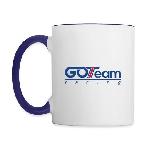 GOTeam Racing Blue - Tvåfärgad mugg