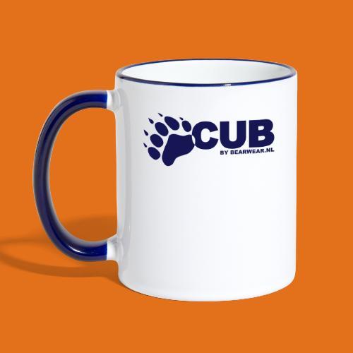 cub by bearwear sml - Contrasting Mug