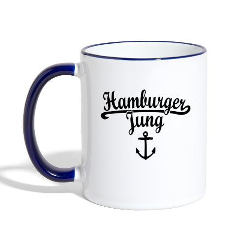 Hamburger Jung Klassik Hamburg - Tasse zweifarbig