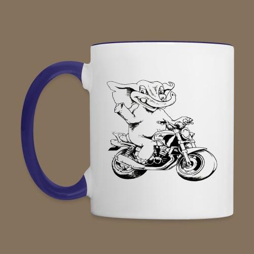 Logo MEV - Mug contrasté