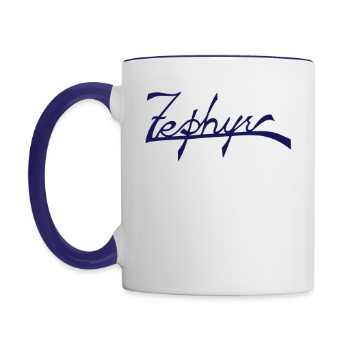 zephyr_logo - Tvåfärgad mugg