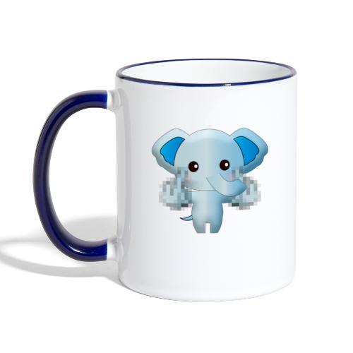 Éléphant F*** - Mug contrasté