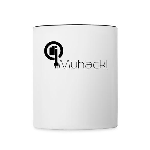 DJ Muhackl - Tasse zweifarbig