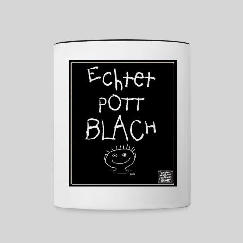 Echtet PottBLACH NEU jpg - Tasse zweifarbig