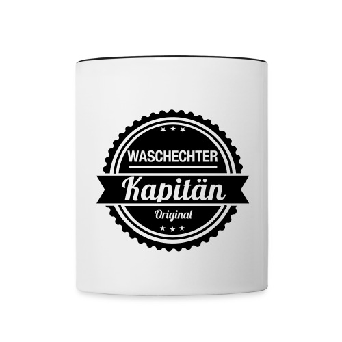 Kapitän - Tasse zweifarbig
