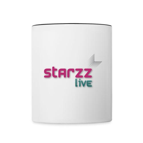 starzz live - Tasse zweifarbig