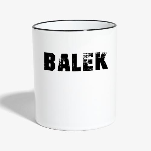 BALEK - Mug contrasté