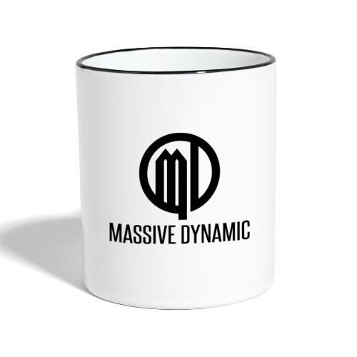 Massive Dynamic Schwarz - Tasse zweifarbig