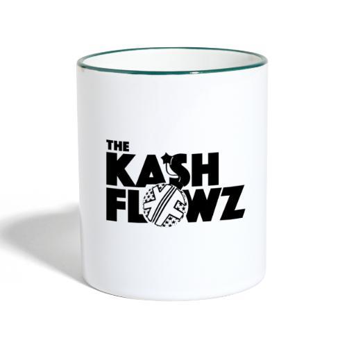 Bomb Logo Black - Mug contrasté