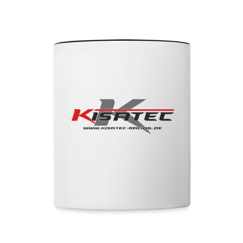 Kisa Logos 3 png - Tasse zweifarbig