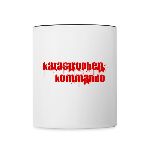 KK Logo rot - Tasse zweifarbig
