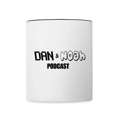 Black Logo png - Contrasting Mug