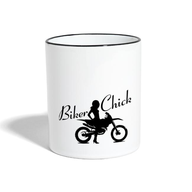 Biker Chick - Dirt bike