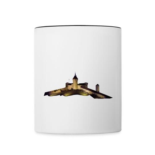 Munot - Tasse zweifarbig