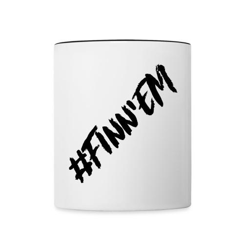 Finn'EM logo - Kaksivärinen muki