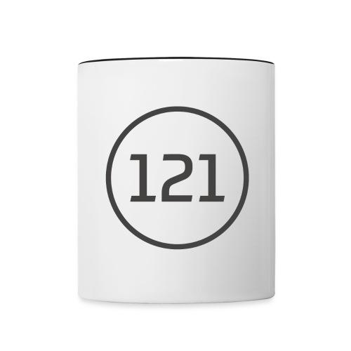 Tuner121 2018 png - Tasse zweifarbig