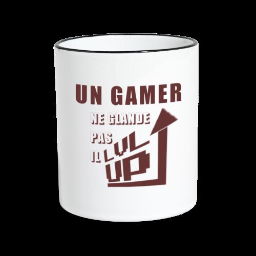 Gamer Glandeur - Mug contrasté