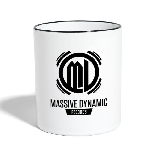Massive Dynamic Records - Tasse zweifarbig