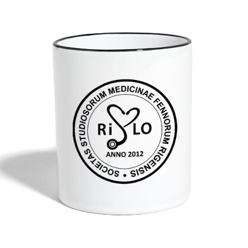 Rislo Logo - sisäiseen käyttöön - Kaksivärinen muki
