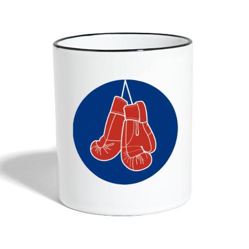 The LEATHER® Glove Logo - Contrasting Mug