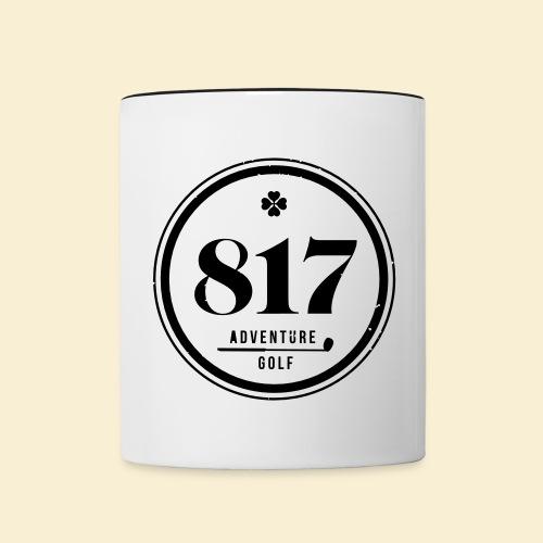 817 Adventure Golf - Tasse zweifarbig