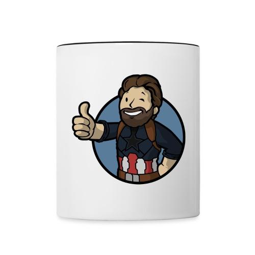 Vault-Tec Mashup T-Shirt - Contrasting Mug