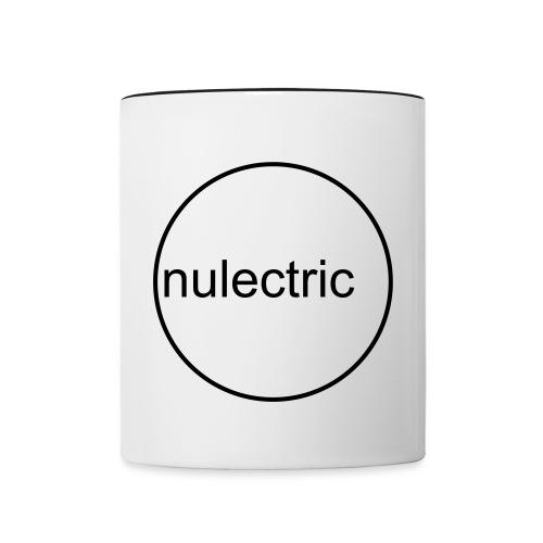 Nulectric Logo - Tasse zweifarbig