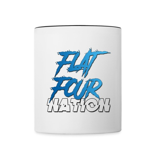 Flat Four Nation - Contrasting Mug
