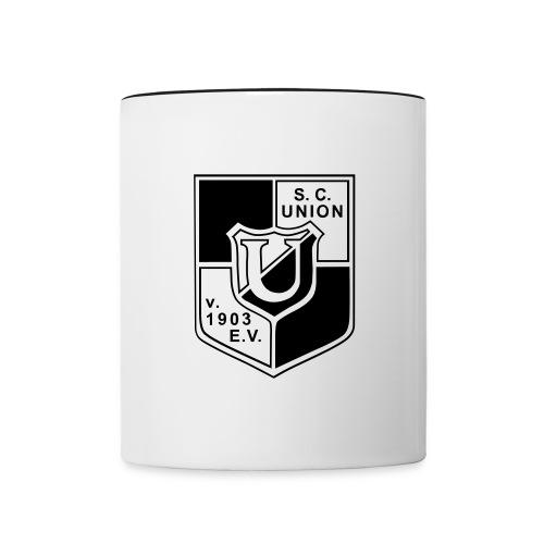 logo union03 - Tasse zweifarbig