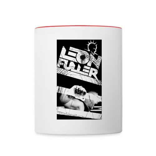 Leon Fuller fanshirt - Contrasting Mug